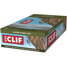 CLIF Bar Energy Bar Box 12 x 68g, Alpine Cereal Mix